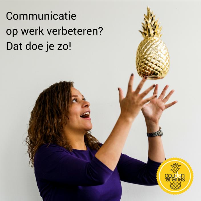 communicatie verbeteren op het werk - Sayna GoudenAnanas.nl